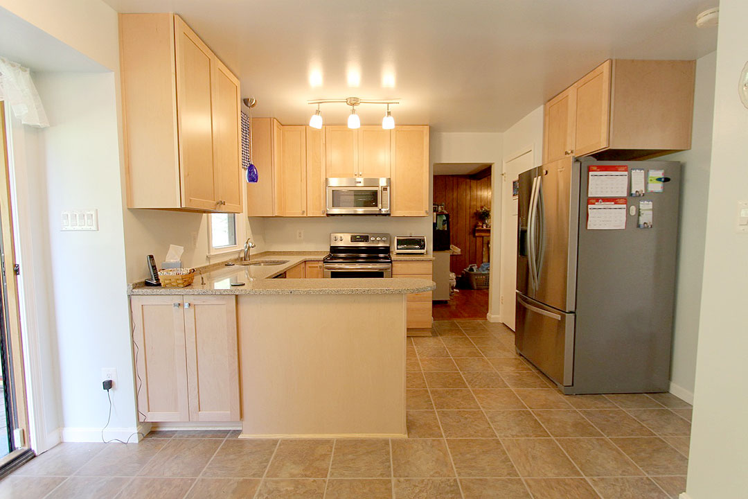 Kitchen Remodel In Springfield Va By Ramcom Kitchen Bath Contractrors