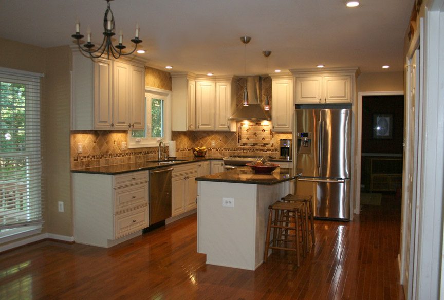 Kitchen remodel in gainesville va by ramcom kitchen bath for Kitchen and bath contractors